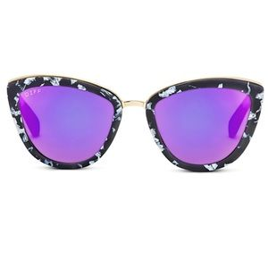DIFF Polarized Rose Sunglasses